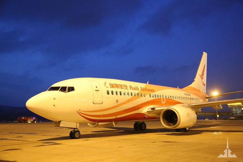 瑞丽航空喜迎b737-700飞机机队规模达7架