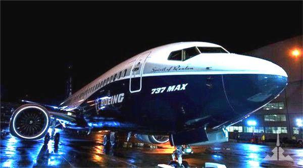 瑞丽航空预订波音737max亮相
