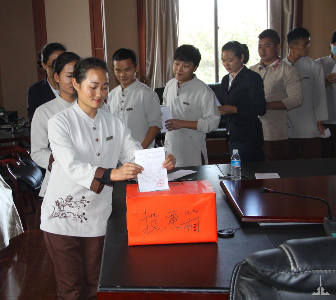 党委副书记毕鸿萍当选景成集团选区第十七届人大代表