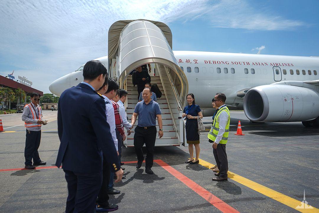 柬埔寨JC国际航空喜迎第三架飞机