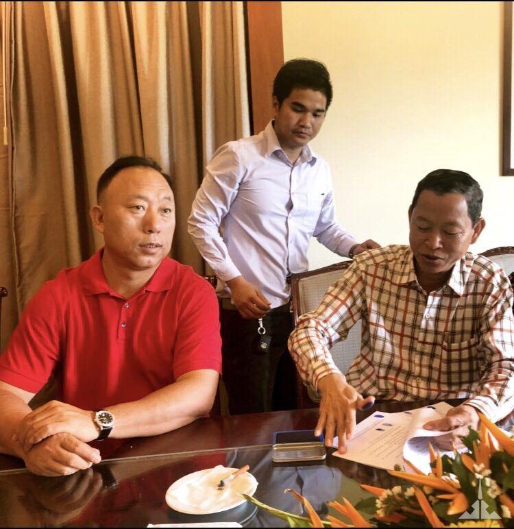 景成集团签订柬埔寨海景房用地购置协议