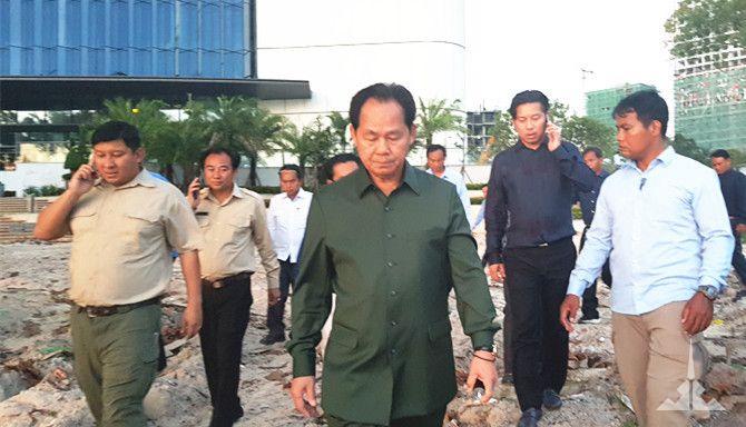 柬埔寨副总理谢速帕拉检查昊利旅游综合体