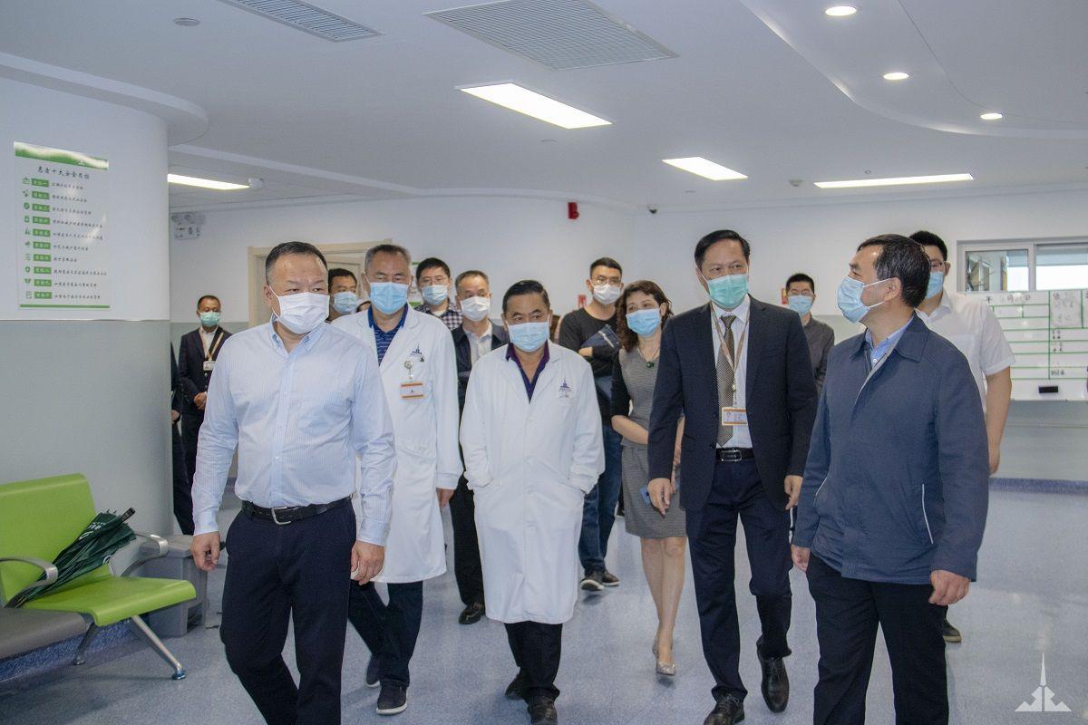 国家医管中心、省卫健委领导一行到景成医院调研指导