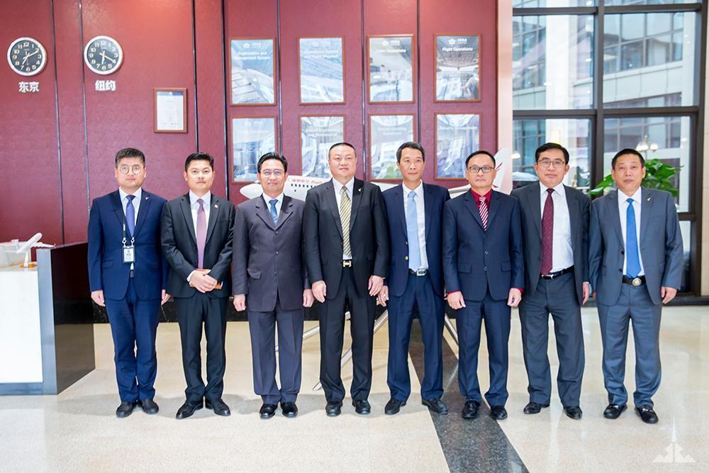 东南亚五国总领事馆与betball贝博软件下载航空交流国际航线开拓